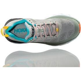 Hoka One One Bondi 6 Running Shoes Dame vapor blue/wrought iron